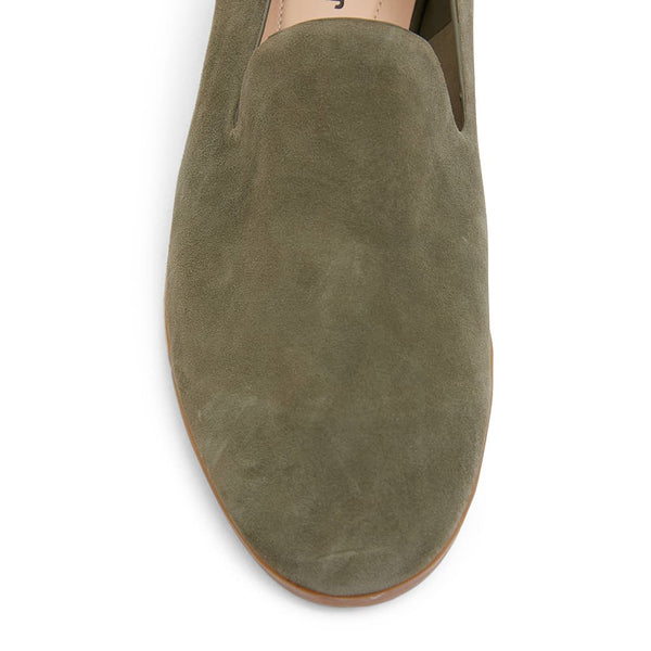 Talbot Loafer in Khaki Suede