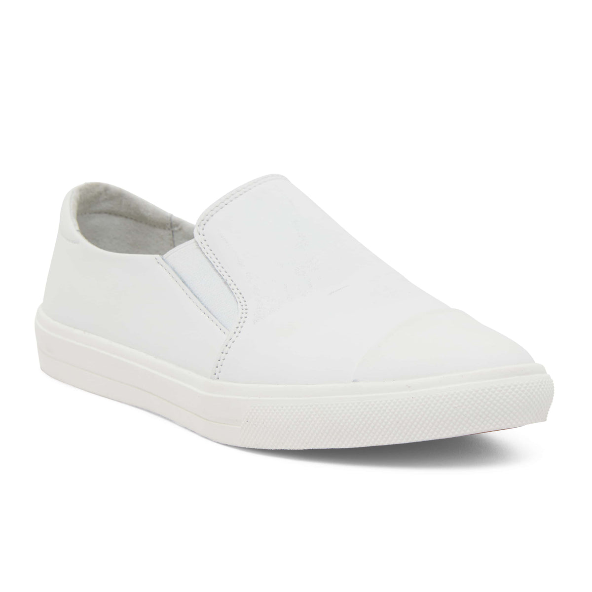 Tandem Sneaker in White Leather