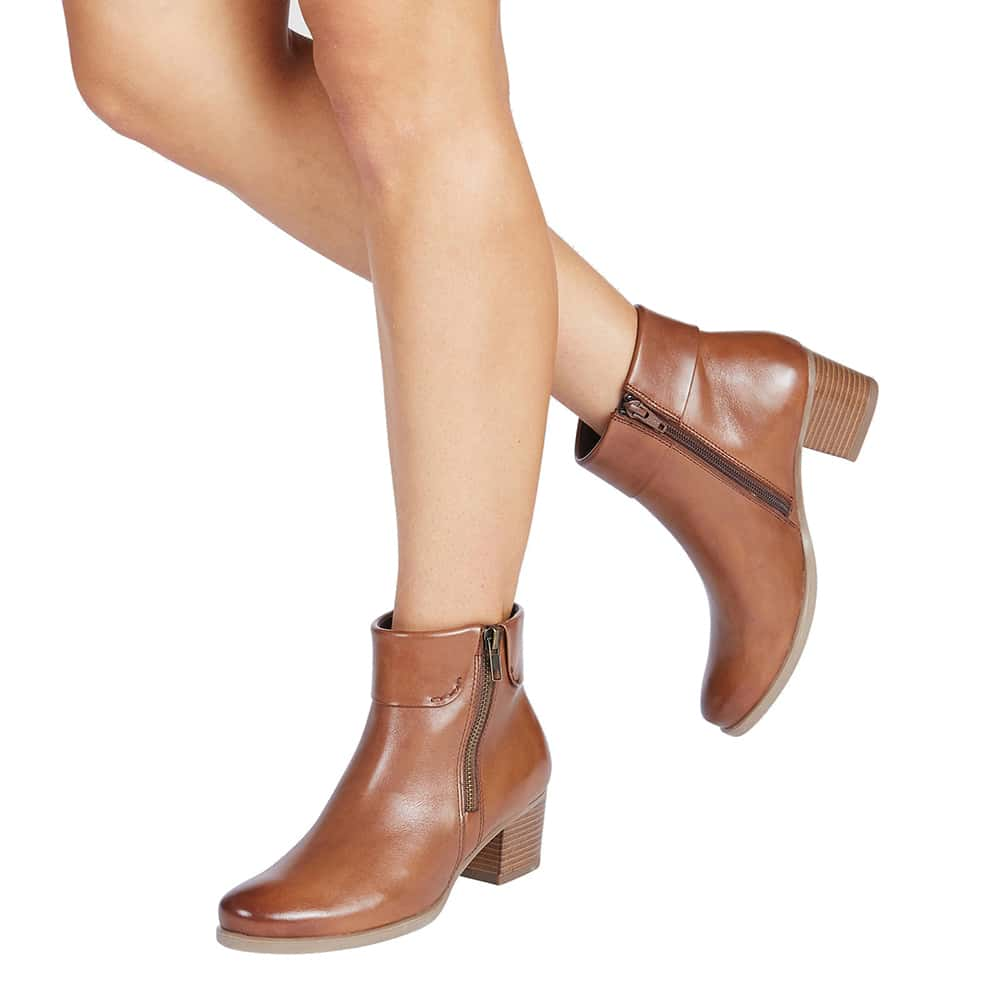 Tenor Boot in Tan Leather