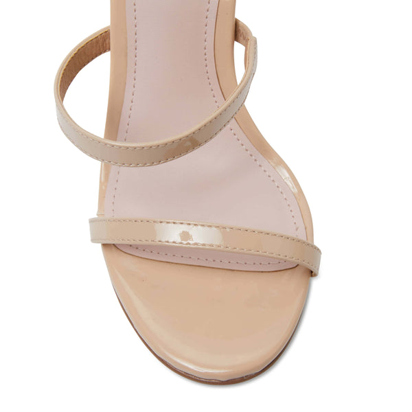 Testify Heel in Nude Patent
