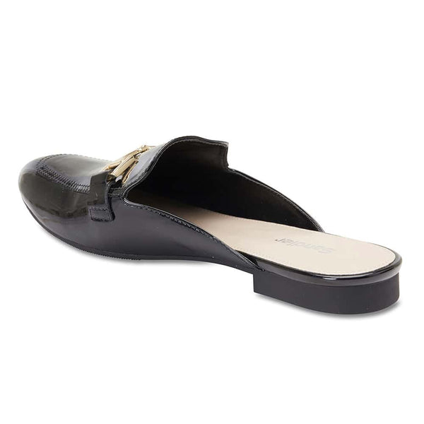 Titan Slide in Black Patent