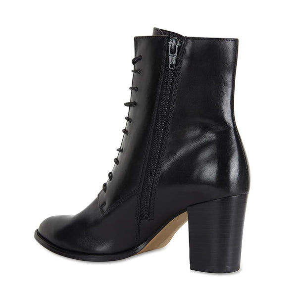 Token Boot in Black Leather