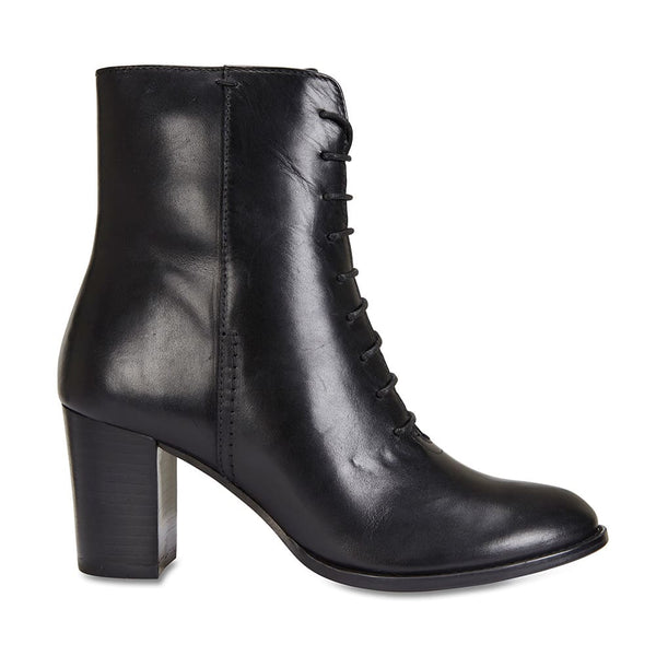 Tudor Boot in Black Leather