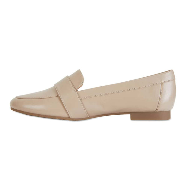 Tyson Loafer in Nude Leather