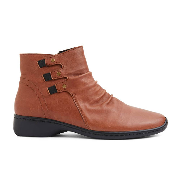 Valiant Boot in Tan Leather