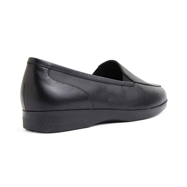 Verse Loafer in Black Leather
