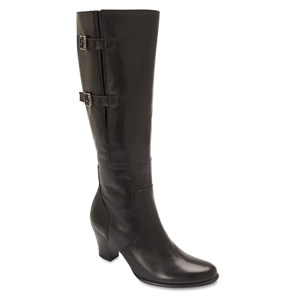Victor Boot in Black Leather