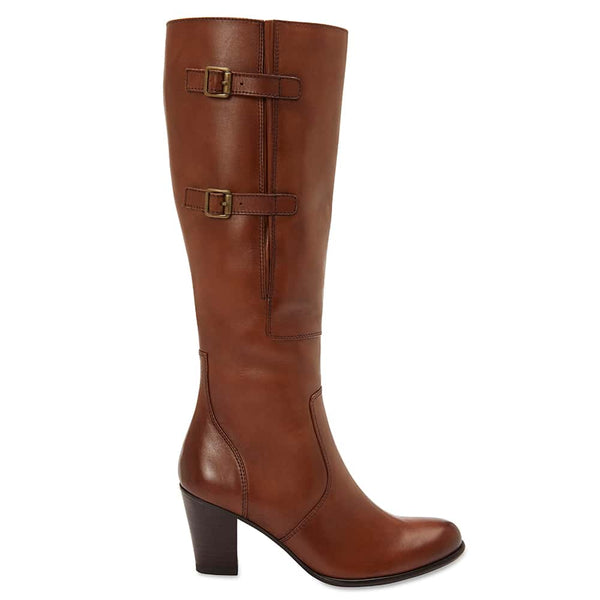Victor Boot in Mid Brown Leather