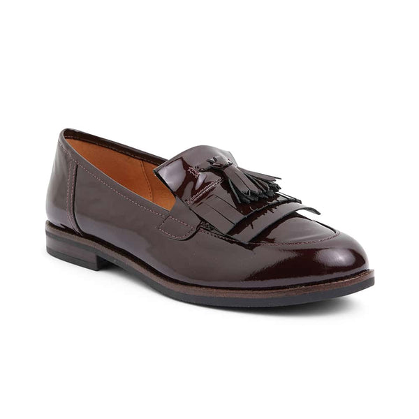 Wade Loafer in Burgundy Patent