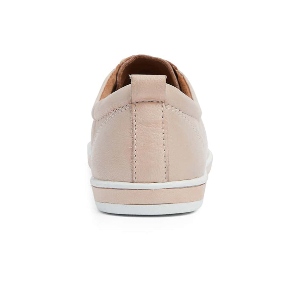 Waffle Sneaker in Blush Leather