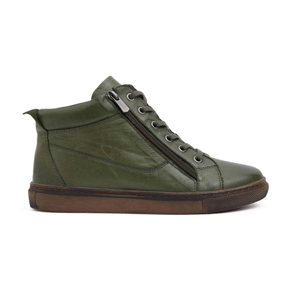 Wagner Boot in Khaki Leather