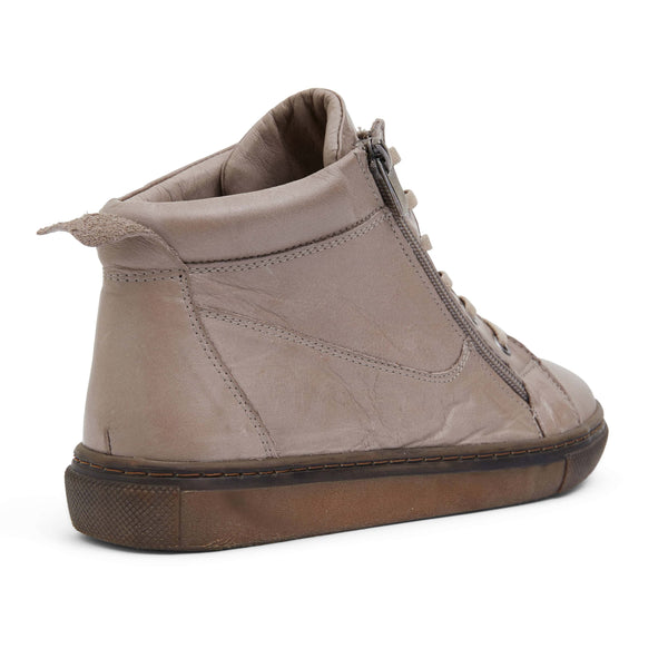 Wagner Boot in Taupe Leather