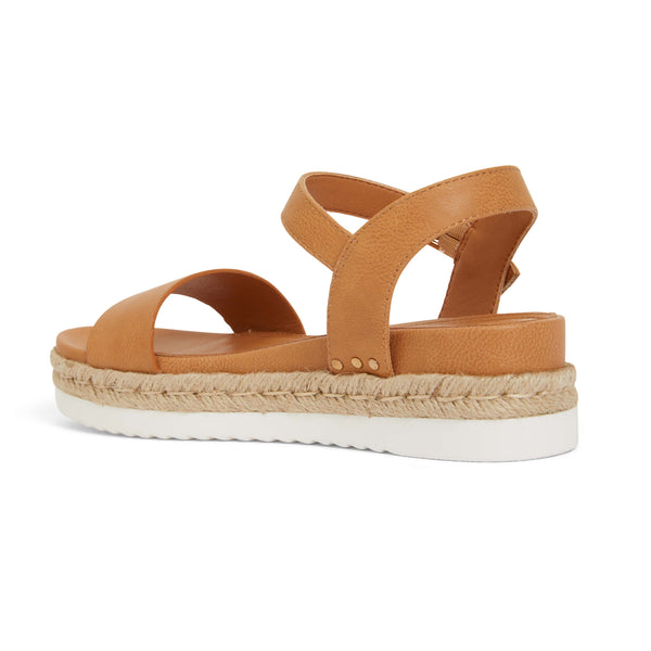 Wander Espadrille in Camel Smooth