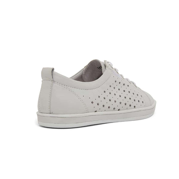 Warwick Sneaker in White Leather