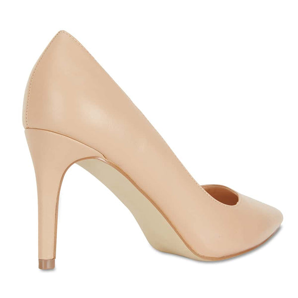 Wild Heel in Nude Smooth