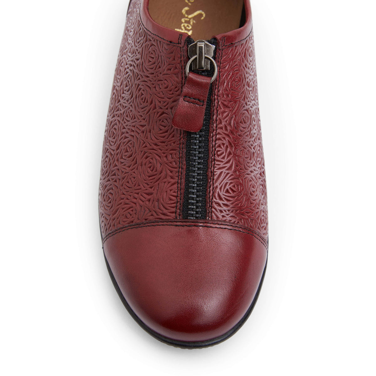 Wiley Brogue in Red Leather