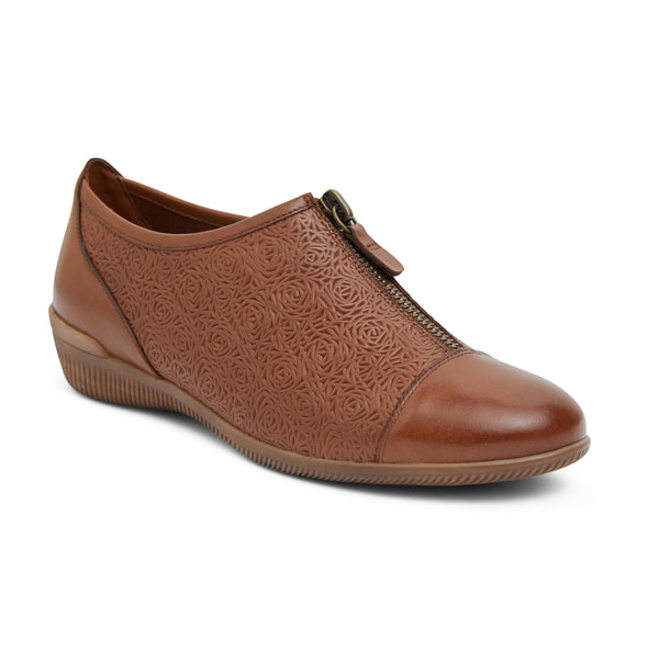 Wiley Brogue in Cognac Leather