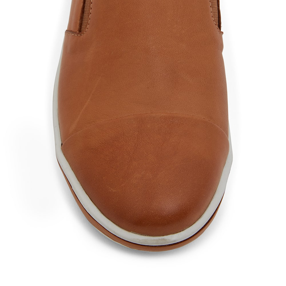 Wise Sneaker in Tan Leather