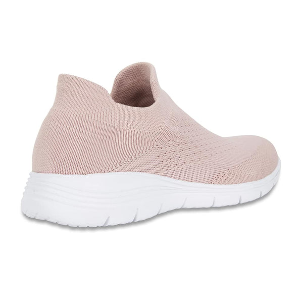 Woods Sneaker in Blush Fabric