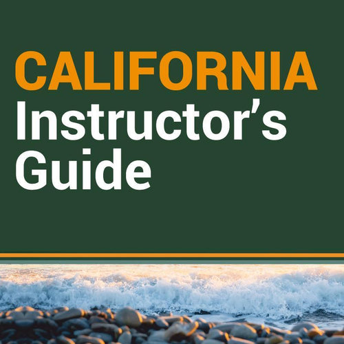Guía de instructores para cursos de California