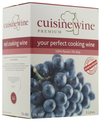 Cuisinewine - Red - 5L - BiB