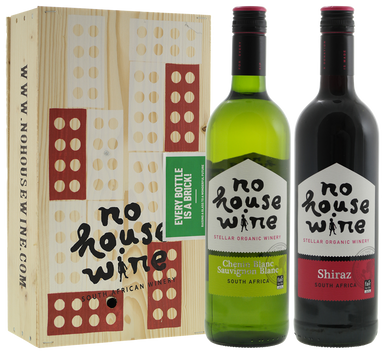 No House Wine - Bordeauxkist 2-vaks