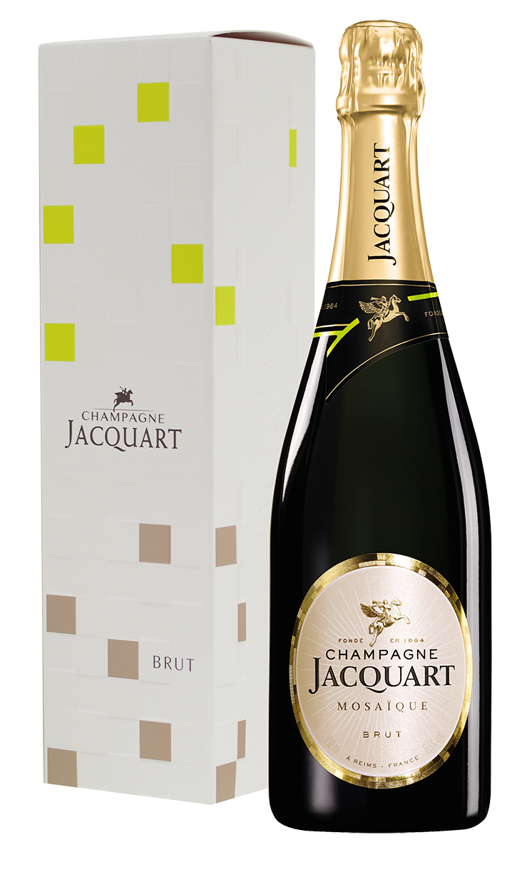 Jacquart - Champagne - Brut - Mosaique - in geschenkverpakking