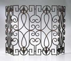 Cyan Design Wrought Iron Fire Screen - 00769 - Chachkies