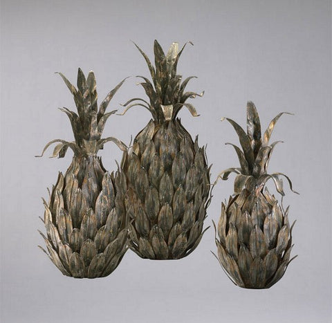 Cyan Design Variegated Pineapples, Set/3 - 01254 - Chachkies