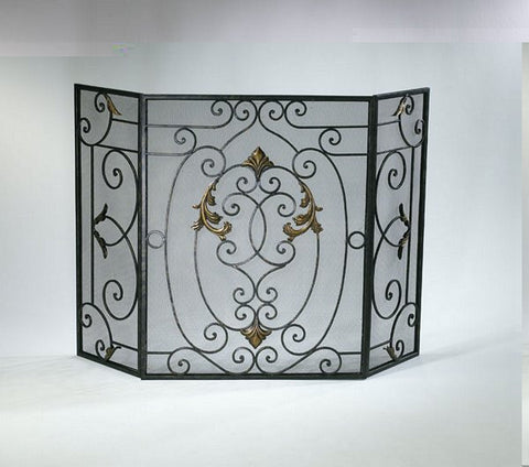 Cyan Design French Fire Screen - 01351 - Chachkies