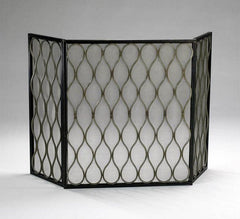 Cyan Design Gold Mesh Fire Screen - 02003 - Chachkies