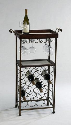 Cyan Design New York Wine Stand - 02793 - Chachkies