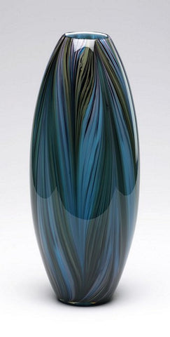 Cyan Design Peacock Feather Vase - 02920 - Chachkies