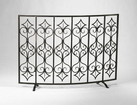 Cyan Design Casablanca Fire Screen - 04007 - Chachkies