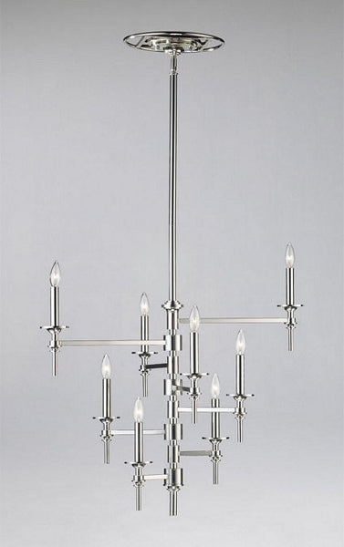 Cyan Design Eight Light Omega Chandelier - 04182 - Chachkies