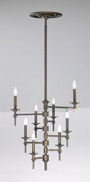 Cyan Design Eight Light Omega Chandelier - 04186 - Chachkies