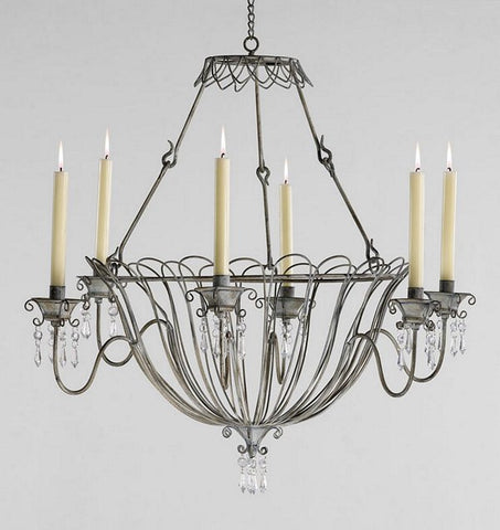 Cyan Design Somerset Candle Chandelier - 04300 - Chachkies