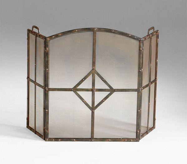Cyan Design Lincoln Fire Screen - 04900 - Chachkies