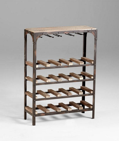 Cyan Design Gallatin Wine Rack - 04978 - Chachkies