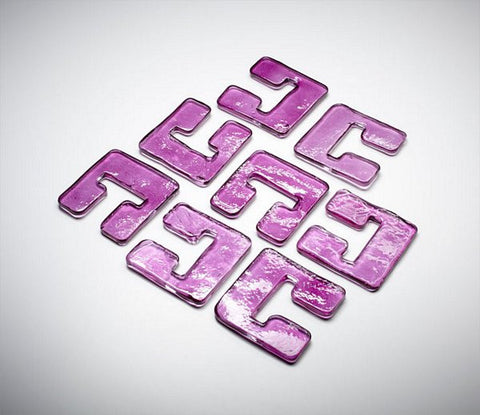 Cyan Design Glass Links For 04981 - Purple - 05122 - Chachkies