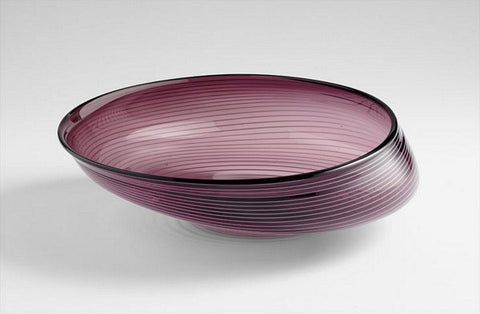 Cyan Design Small Purple Oyster Bowl - 05859 - Chachkies