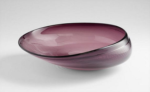 Cyan Design Large Purple Oyster Bowl - 05860 - Chachkies