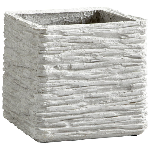 Cyan Design Large Square Fossil Cliff Planter - 05929 - Chachkies