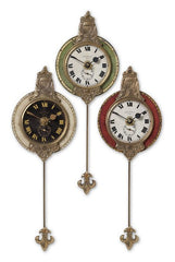 Monarch Clock, Set/3