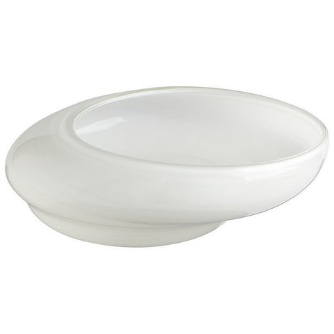 Cyan Design White Oyster Bowl, Large - 06141 - Chachkies