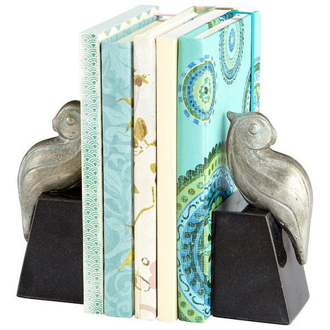 Cyan Design Perched Bird Bookends, Set/2 - 06281 - Chachkies