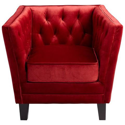 Cyan Design Prince Valiant Chair, Red - 06324 - Chachkies