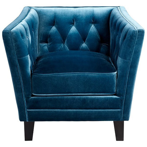 Cyan Design Prince Valiant Chair, Blue - 06325 - Chachkies