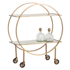Arteriors Home Rupert Bar Cart