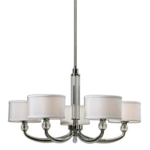Vanalen 5L Chrome Chandelier